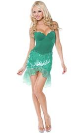 Мини-платье русалочки