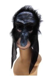 Латексная маска макаки