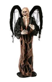 Фигура погибшего черного ангела 180 см