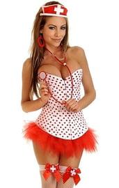 Корсетный костюм медсестры Pin-Up