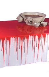 Кровавая скатерть на Хэллоуин