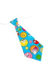 Карнавальный галстук Разные смайлы