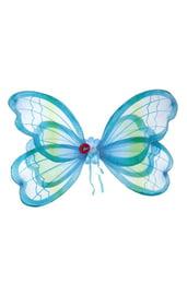 Синие крылья мотылька