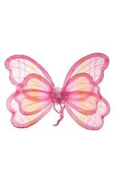 Розовые крылья мотылька