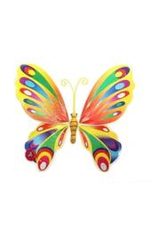 Радужные крылья полет бабочки