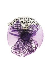 Фиолетовый карнавальный ободок