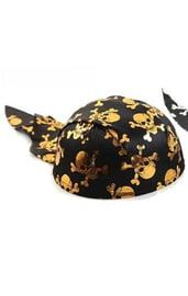 Шляпа-бандана с черепками
