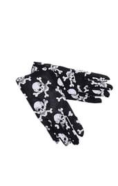 Перчатки с черепками