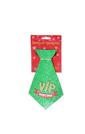 Зеленый галстук VIP