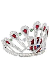 Высокая корона с камнями