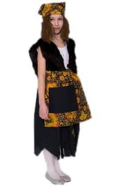 Детский костюм Бабы Яги с горбом