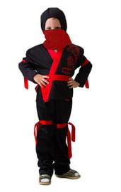 Детский костюм черного Ниндзи