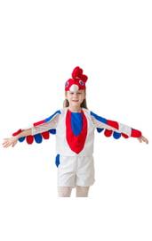 Детский костюм Белый петушок