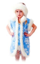 Детский костюм Нарядной Снежинки