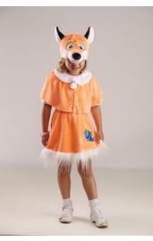 Детский костюм рыженькой лисички