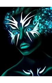 Неоновые линзы Neon Blue