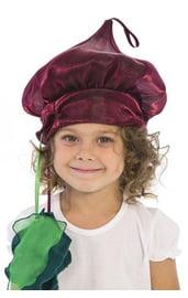 Карнавальная шапочка Свекла