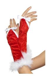 Перчатки Санты женские