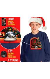 Толстовка Рождественский шар
