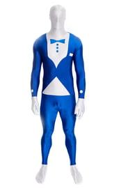 Синий костюм Смокинг вторая кожа