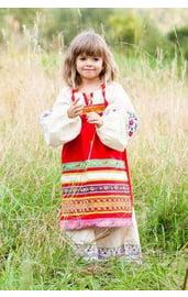 Детский фартук Матрешка