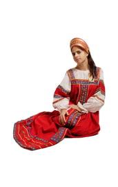 Красный сарафан Забава