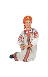Льняной сарафан Забава