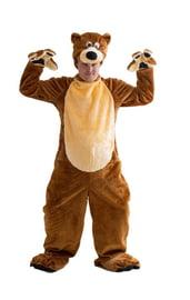 Плюшевый костюм бурого медведя