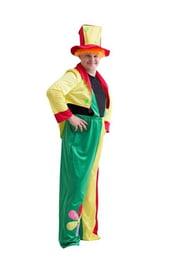 Костюм яркого клоуна