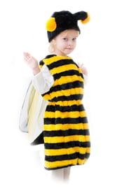 Меховой костюм Пчелки
