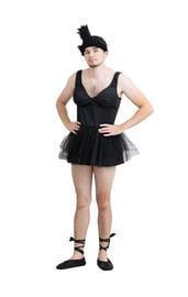 Мужской костюм Черного Лебедя