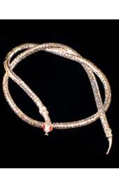 Украшение на шею змейка