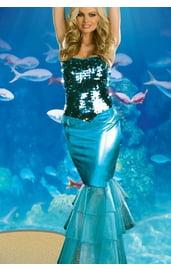 Платье русалочки