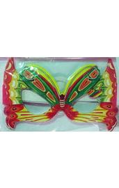 Яркие очки в форме бабочки