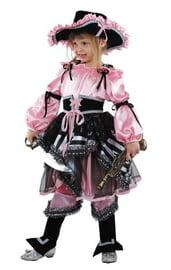 Розовый костюм пиратки
