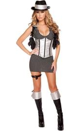 Женский костюм гангстера