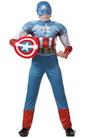 Костюм отважного Капитана Америки