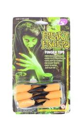 Пальцы ведьмы с черными ногтями