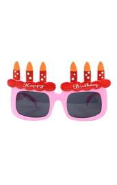 Розовые очки Happy Birthday