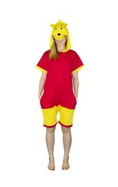 Пижама-кигуруми Пух с шортиками