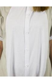 Пижама-кигуруми Серый Кот с шортиками