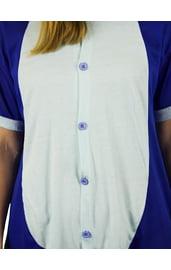 Пижама-кигуруми Стич синий с шортиками