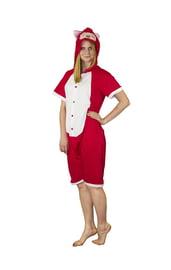 Пижама-кигуруми Красная Панда с шортиками