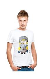Мужская футболка Миньон хирург