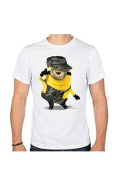 Мужская футболка Миньон-милитари