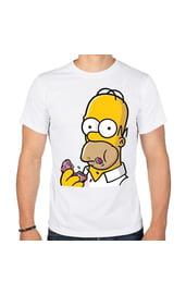 Мужская футболка Гомер