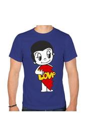 Мужская парная футболка Love is