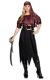 Женский костюм Изящной пиратки