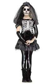 Детский костюм скелета Невесты