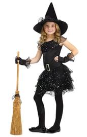 Детский костюм Блестящей ведьмочки